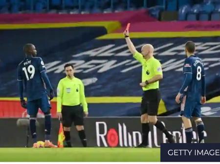 Arsenal legend Wright slams 'totally unprofessional' Pepe