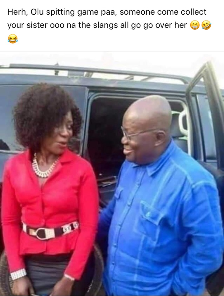 """03163b84f654ca204f9e0b12c6f80d80?quality=uhq&resize=720 - He's The Real (Papa No)"""" - Ghanaians Reacts To A Photo Of Nana Addo Having A Good Time With A Lady"""