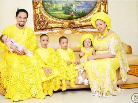 The Lion Himself: Check Out Photos Of Prophet Odumeje And His Lovely Wife And Kids