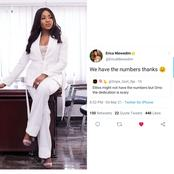 Reactions As Erica Replied A Twitter User Who said The Elites Might Not Be Much In Numbers