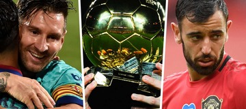 Ballon d'Or 2020 Power Rankings: Messi moves up as Fernandes enters the top 10