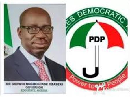 Tinubu, APC Chieftains in A Grand Plot to Buy Votes and Intimidate Voters With Soldiers - Edo PDP