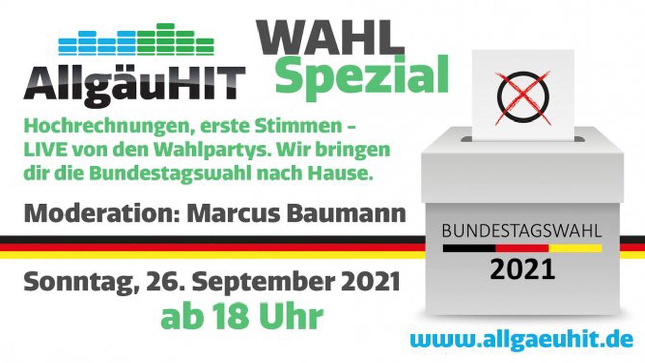 AllgäuHIT-Sondersendung zur Bundestagswahl