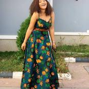 Adorable Maxi Gown Styles For Beautiful Ladies To Slay With (Photos)