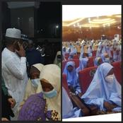 Photos: Bandits Have finally released 279 out of the 317 school girls abducted in Zamfara
