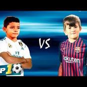 CR7 Jnr Or Thiago Messi, Who Will Become the Future