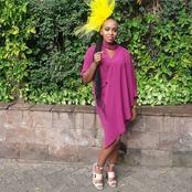 So Adorable!; Senator Isaac Mwaura's Wife Nelius Mukami Stuns In A Pink Wrap Dress (Photos)
