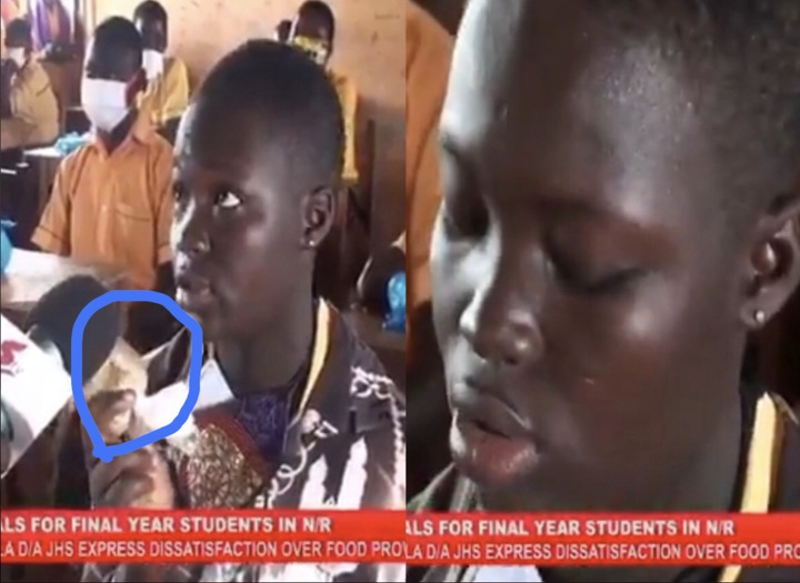 """036a992a1eb2caff88f898501ffd0f2e?quality=uhq&resize=720 - """"Half a loaf is better than none"""" Ghanaians descend on the JHS girl who complained about the one Banku"""