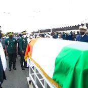 Décès: le Gal Diabakaté Soumaila reçoit l'adieu du ministre TBO et le dernier garde-à-vous de l'armée