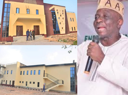 Federal Lawmaker Shows National Library He Facilitated In Osun State (Photos)