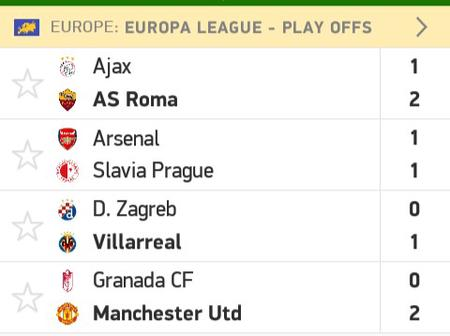 Europa Competitions May Have Awkward Results During The Second Leg