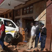 Vehicle Rams Into a Local Pub In Kericho