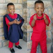 Mothers, Sew These Random Dress Styles For Your Son For Him To Look Adorable