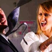 زوجة تحاول الاعتداء علي زوجها بسكين بسبب صورته مع امراة مثيرة.. اتضح ان الصورة للزوجة نفسها