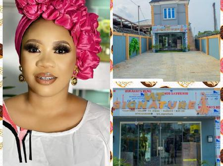 Nollywood Actors Congratulate Actress, Wunmi Toriola As She Unveils Big Shop ( Photos)
