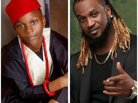 Reactions As Rudeboy Shares Adorable Photos Of His Son On His 8th Birthday