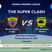 Asante Kotoko to Pierce The Heart of The Bleeding Hearts Of Oak ?