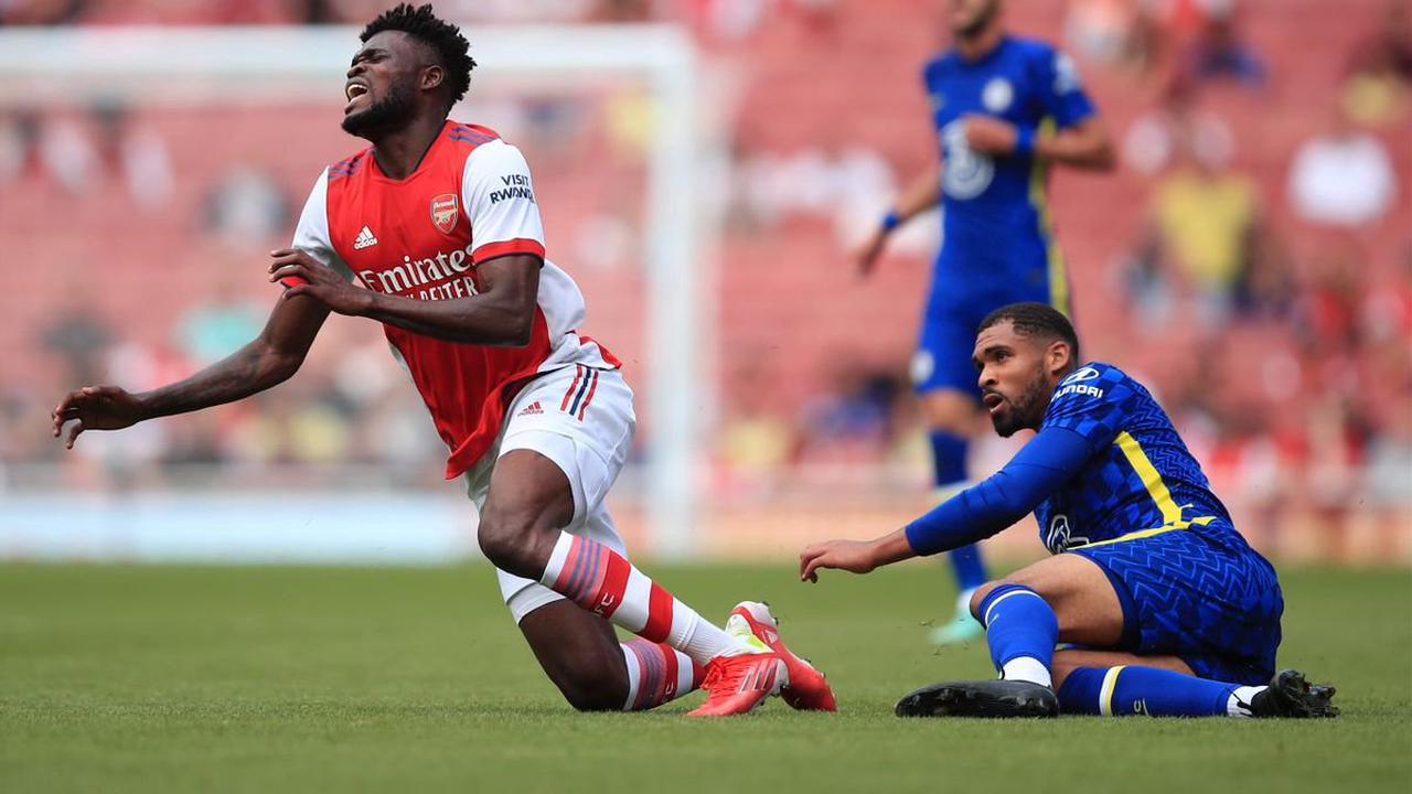 Football news - Arsenal midfielder Thomas Partey to have scan after injury against Chelsea