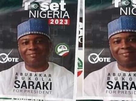 2023: Bukola Saraki Presidential Campaign Posters Surfaces Online (See Photos)