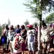 50 Year Old Man Stoned To Death After Being Busted Stealing Potatoes From a Farm In Nakuru