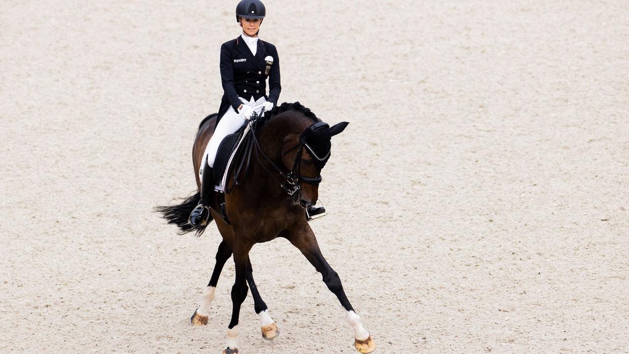 CHIO: Von Bredow-Werndl siegt auch mit Zweitpferd Ferdinand