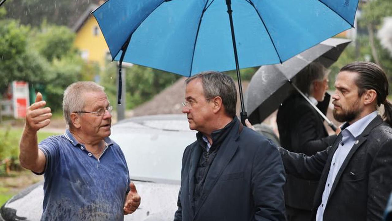 Die Lage am Morgen: Laschet versinkt im Schlamm-Wahlkampf