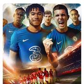 No Havertz or Silva as Chelsea Releases Matchday Cover Photo that feature Werner, Pulisic and Ziyech