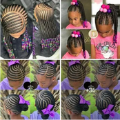 Check Out Africa's Trendiest Braid Designs For Kids to Rock In This Festival Season [Pictures]