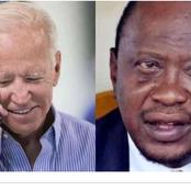Reason Why U.S President Joe Biden Gave President Uhru Kenyatta Surprised Phone Call [opinion]