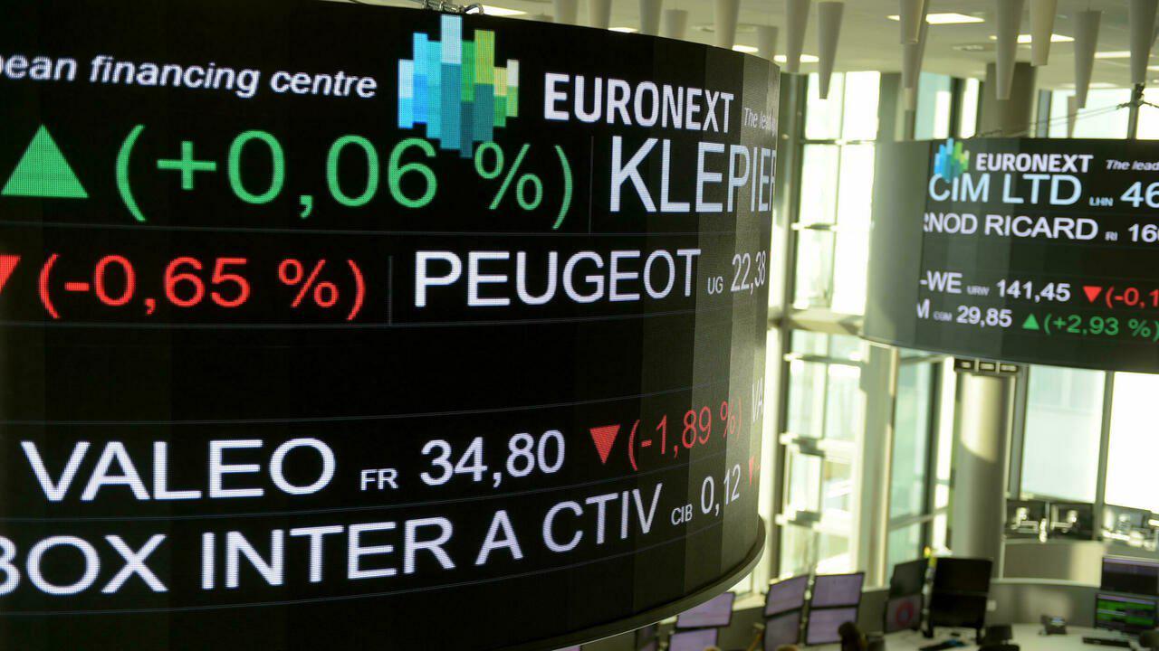 La Bourse de Paris finit en baisse de 0,46%