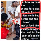 Read What The Lady That Knelt Down To Accept A Proposal Said Her Mum Still Do In Her Marriage