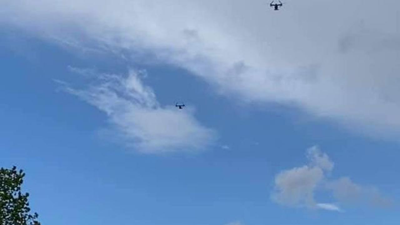 Statement after US military aircraft thundered over city