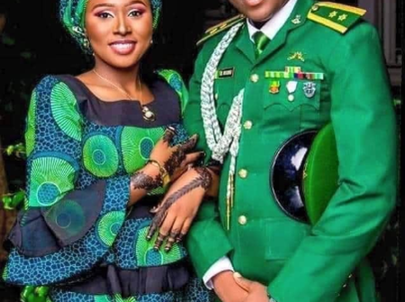 See More Adorable Photos Of The Newly Married Soldier That Was Shot Dead By His Colleague In Borno