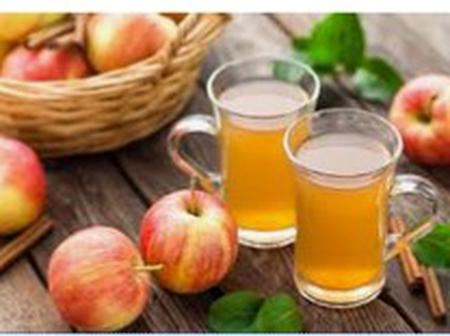 Cure gallstones with apple juice