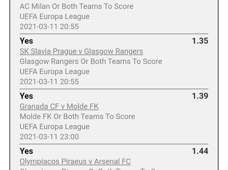 Use A Stake Of Ksh100 And Make Ksh2500 With These Well Analysed Tonight's Games
