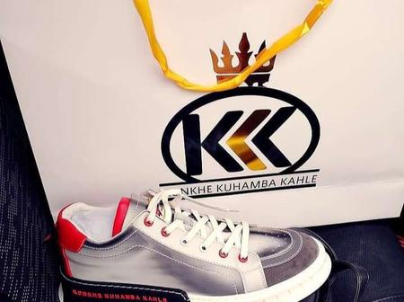 New kid on the block. Konkhe ku-hamba kahle launches new sneakers.