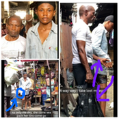 After this man's wife left him when he became blind, see what his daughter did (PHOTOS)