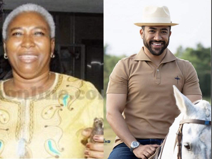 0420cf83eda54e56b845322bbccc2fbf?quality=uhq&resize=720 - Did You Ever Know Majid Michel's Late Lookalike Mother? See Some Photos Of Madam Paulina Olympio