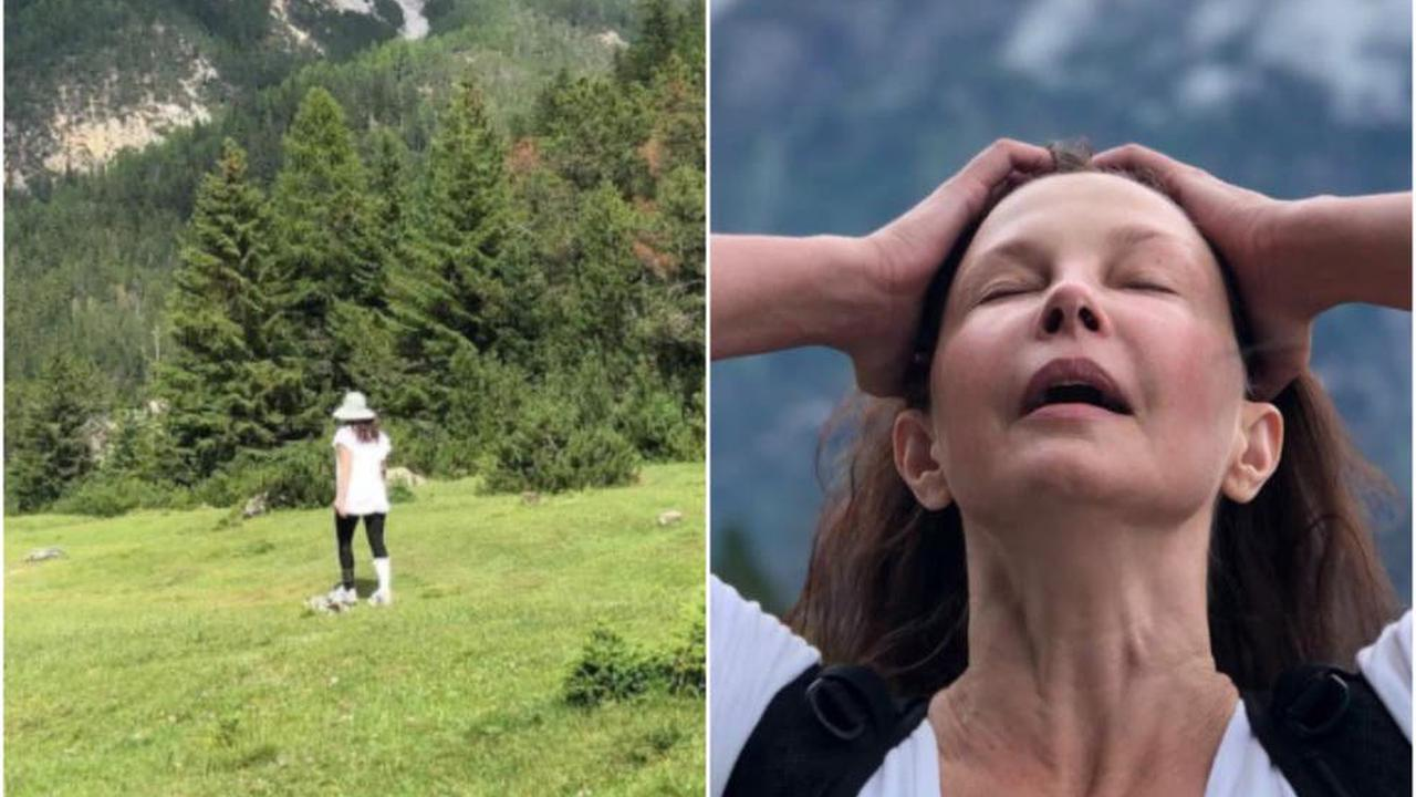 Ashley Judd reveals she is walking again six months after nearly losing leg in accident