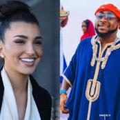 Davido reacts as lady says she is on her way to Atlanta to shoot a music video with him