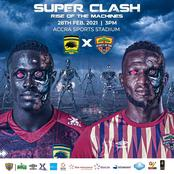 Ghana's super clash : Hearts of Oak will beat Kotoko today to affirm their superiority among the two