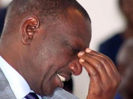 William Ruto Thrown Into An Evening Mourning After This