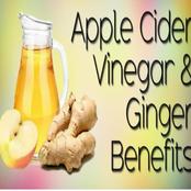Health benefits of apple cider vinegar and ginger
