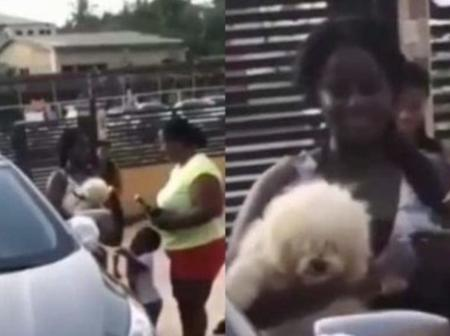 A girl receives a brand new car from her parents as a reward for passing her WAEC.' (Video).