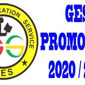 Checkout when Ghana Education Service would release 2021 promotion results (Opinion)