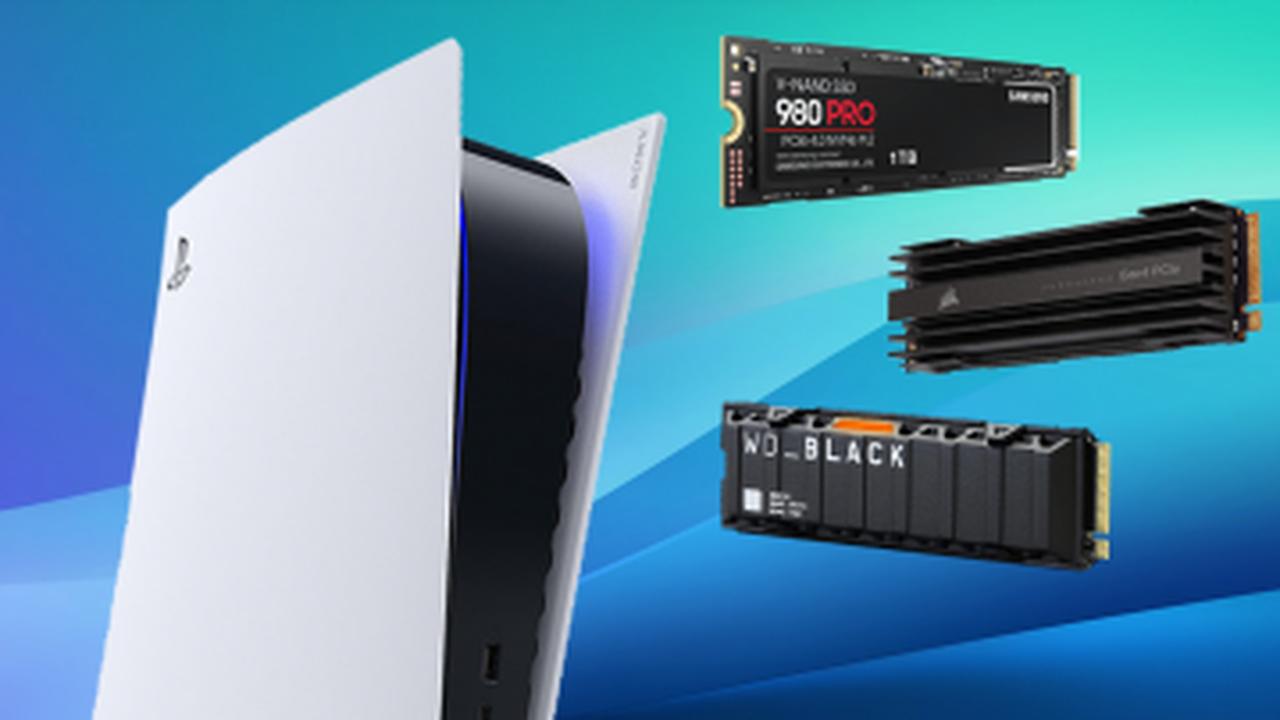 Quels SSD sont compatibles avec la PS5 ?