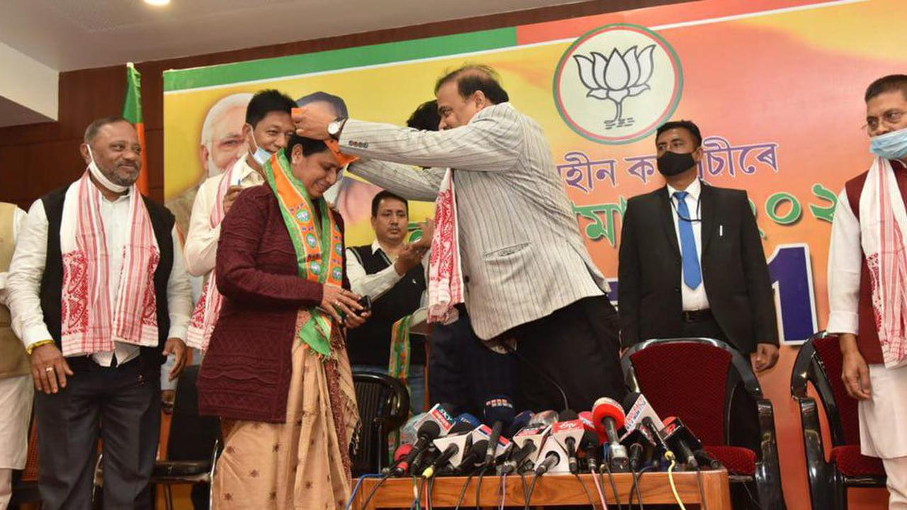 Two expelled Assam Congress MLAs join BJP ahead of polls, call former party 'directionless'