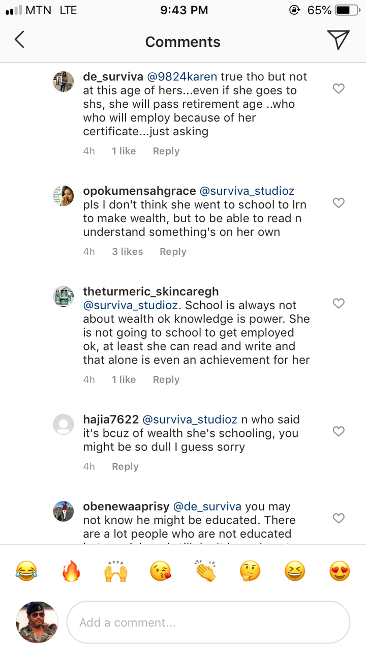 """04555894fd58dc4e8ad8d2856d1f8f14?quality=uhq&resize=720 - """"Go And Work And Stop This Poverty Mindset"""" - Reactions After Oldest BECE Graduate Read On Live Radio(Screenshot +Video)"""