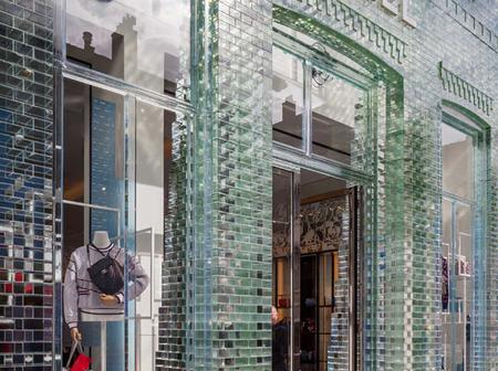Have You Ever Seen Glass Bricks Stronger Than Concretes? Check Chanel Boutique in Amsterdam.