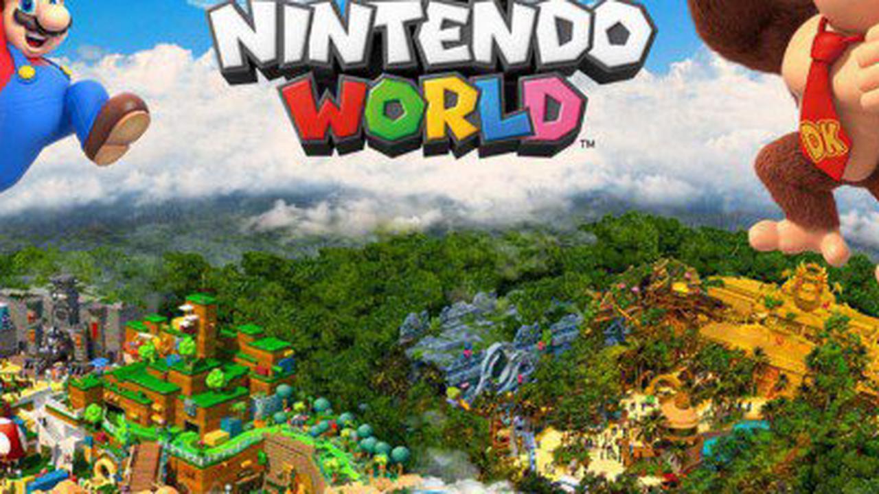 De nouvelles images magiques de Super Nintendo World